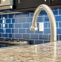 Glass Tile Kitchen Backsplash, Rising Popularity of the Renewable Backsplash